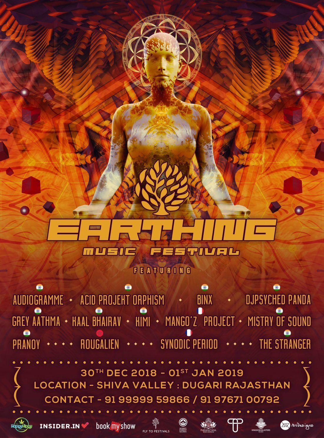 Earthing Music Festival 2018