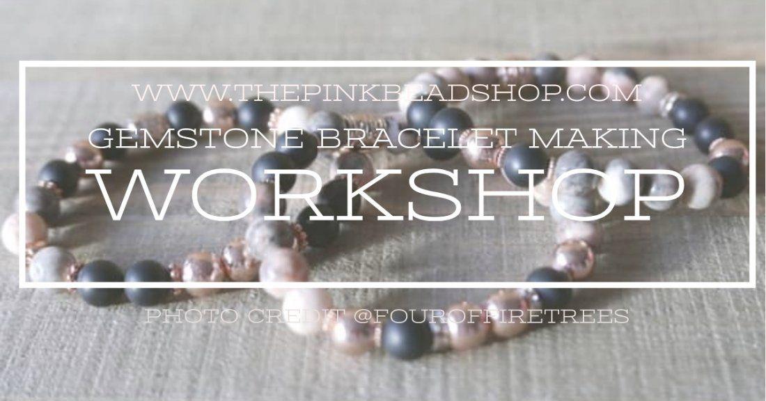Gemstone Bracelet Making