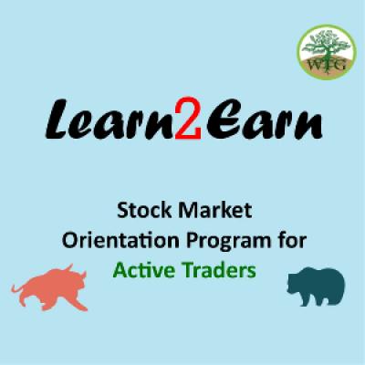 Learn2Earn - For traders in stock markets  Orientation program