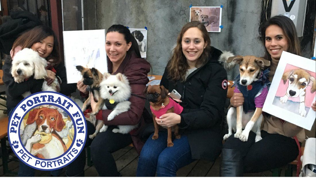 Paint a Pet Portrait-Sunday Funday- D.B.A Lower East Village-Jan 13