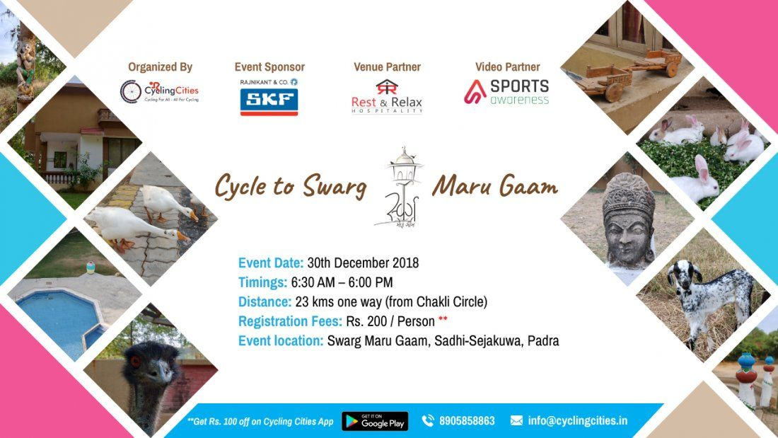Cycle to Swarg Maru Gaam