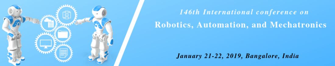 IOSRD-146th International Conference on Robotics Automation and Mechatronics