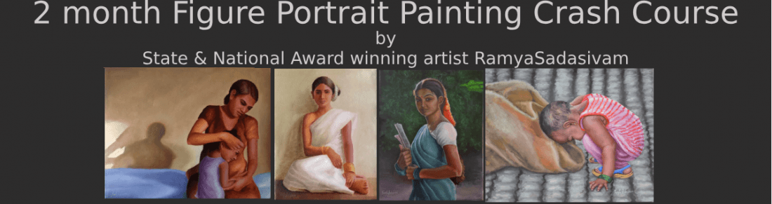 Figure Portrait DrawingPainting Crash Course by RamyaSadasivam
