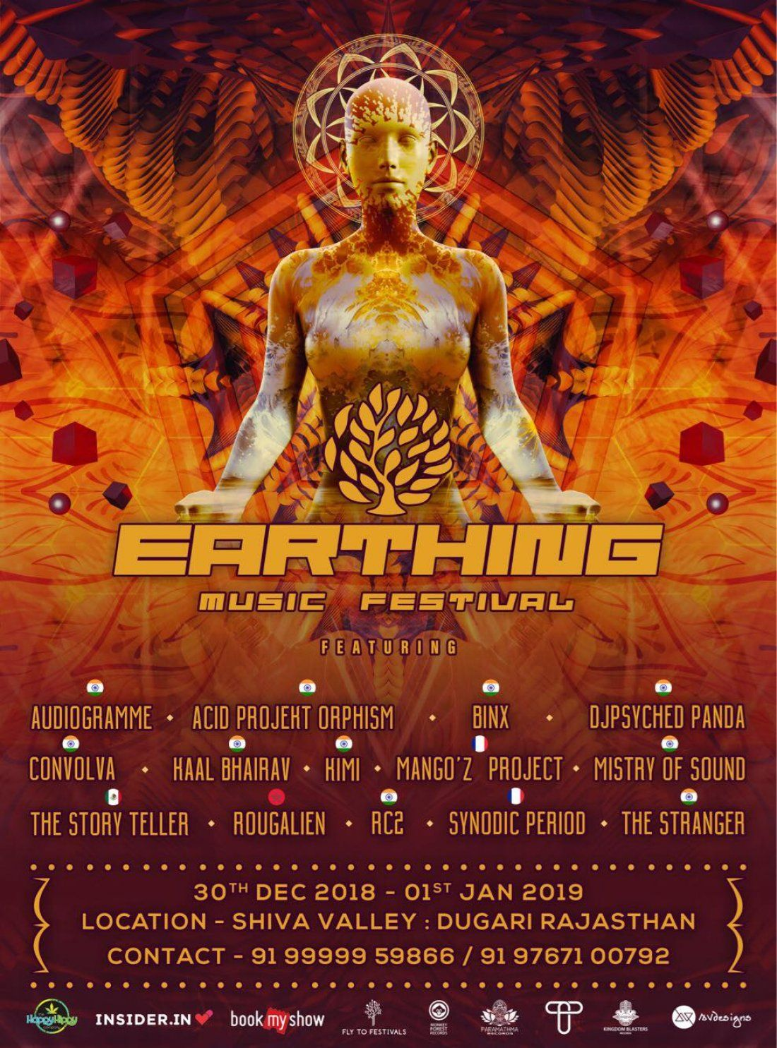 Earthing Music Festival 2018
