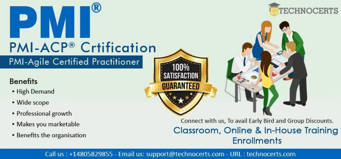 Pmi Acp Agile Certified Practitioner Certification Workshop In