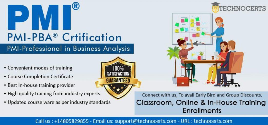 Pmi Professional In Business Analysis Pmi Pba Certification