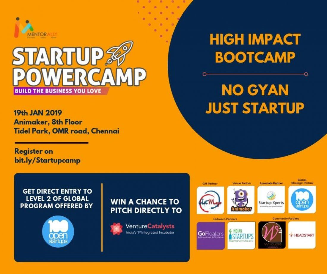 Startup Powercamp by MentorAlly