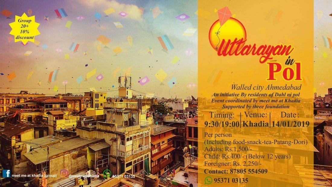 Uttarayan in Pol (Walled City Ahmedabad)