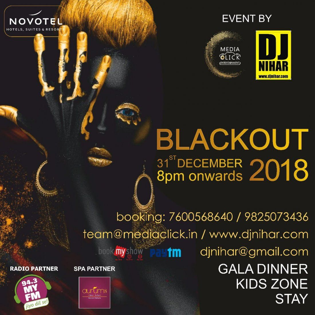 BLACKOUT 2018 BY DJNIHAR