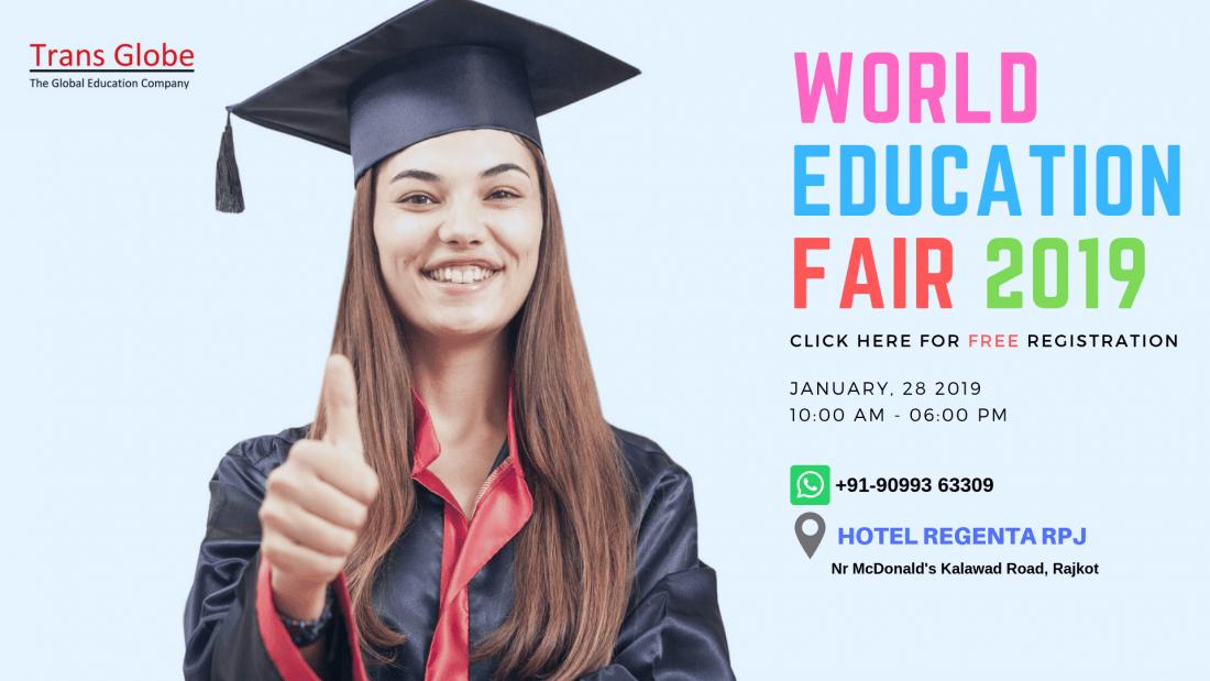 STUDY ABROAD WORLD EDUCATION FAIR 2019