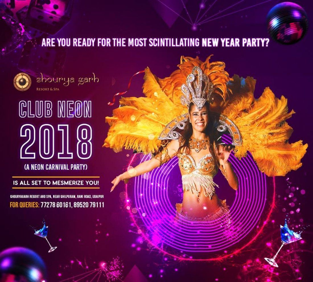 CLUB NEON 2018  A Neon Carnival Party