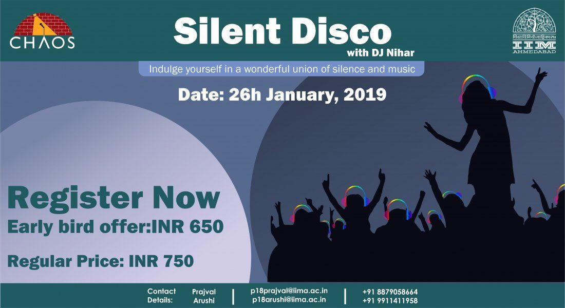 Silent Disco workshop with DJ Nihar