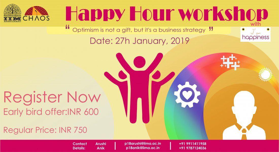 Happy hour workshop