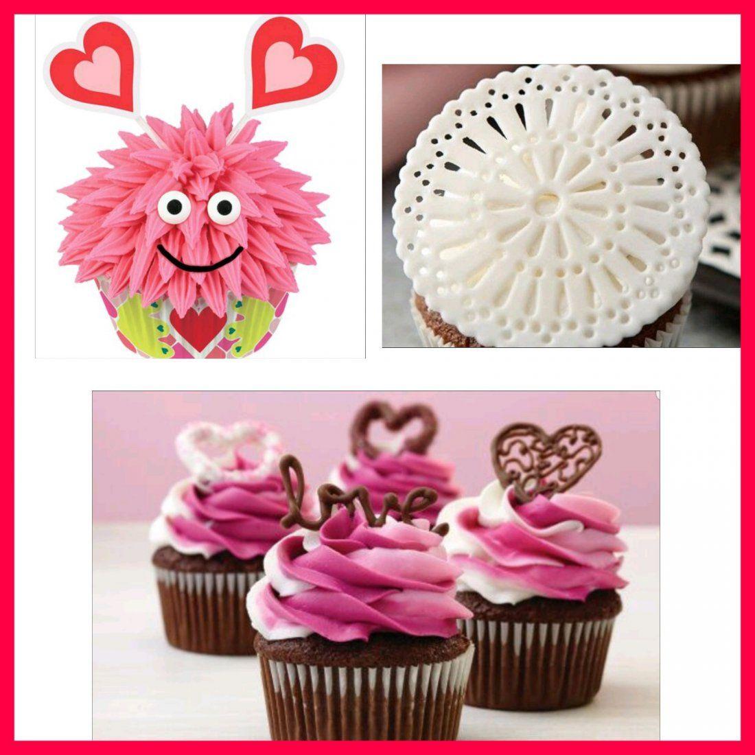 Valentines Cupcake Decorating