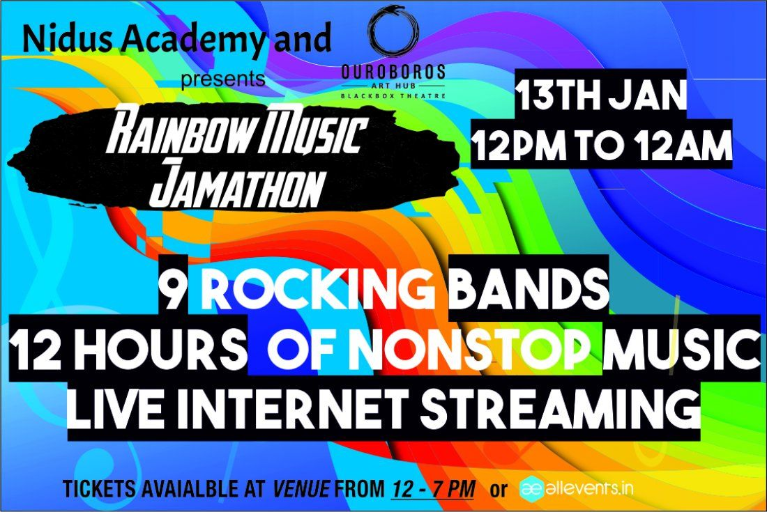 Rainbow Music Jamathon