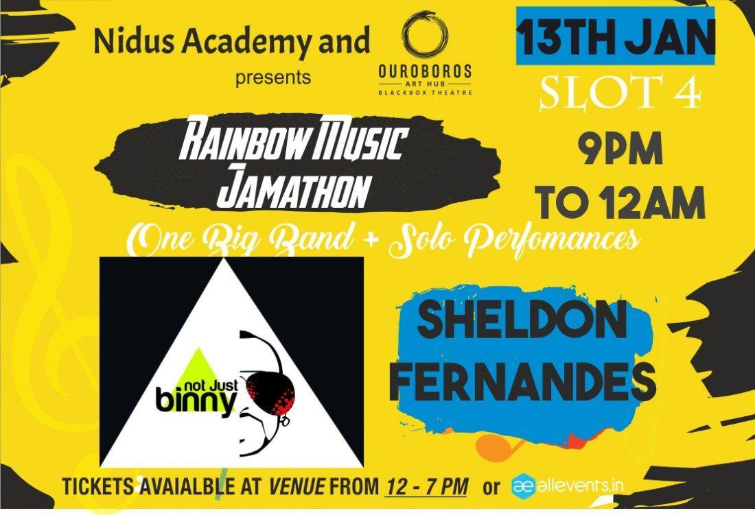 Slot 4 Rainbow Music Jamathon