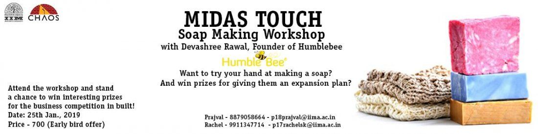 Midas Touch - Soap making workshop with Humblebee