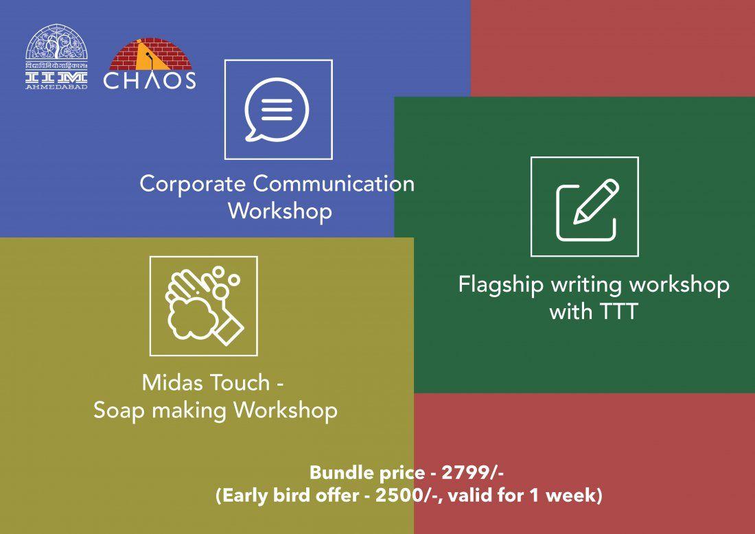 Corporate Communication  Flagship Writing  Soap making workshops (Bundle)