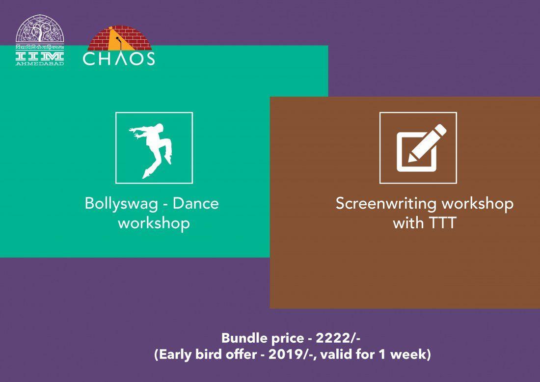 Bollyswag - Dance  Screenwriting workshops (Bundle)