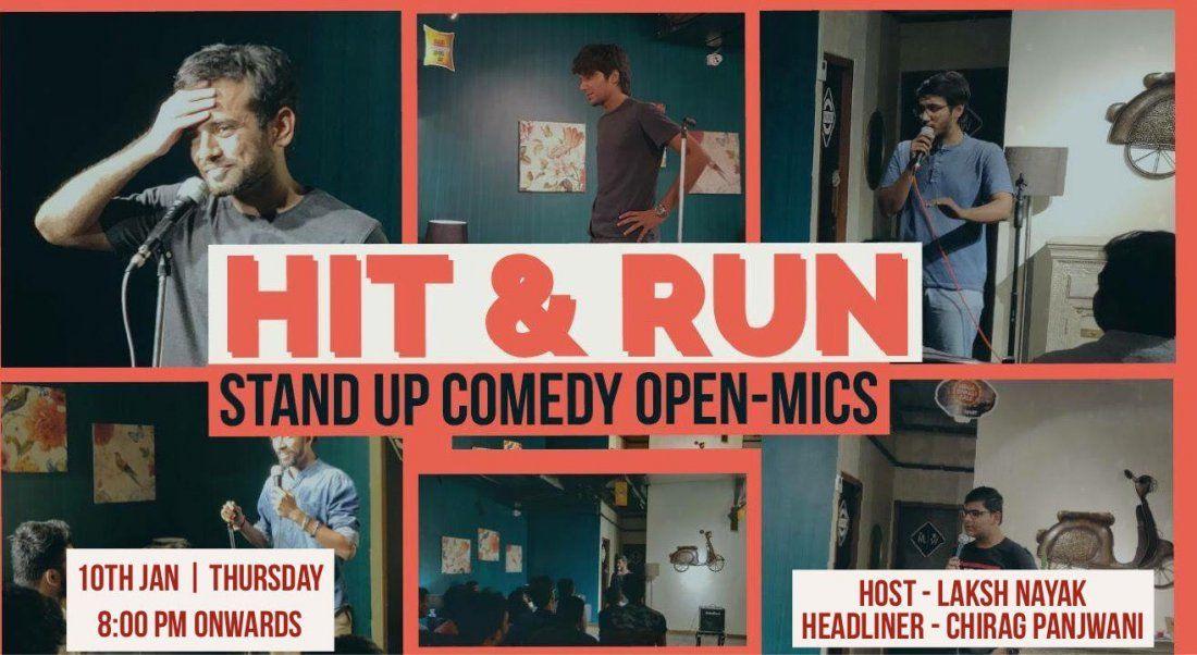 Hit & Run 30.0 - Standup comedy open mic