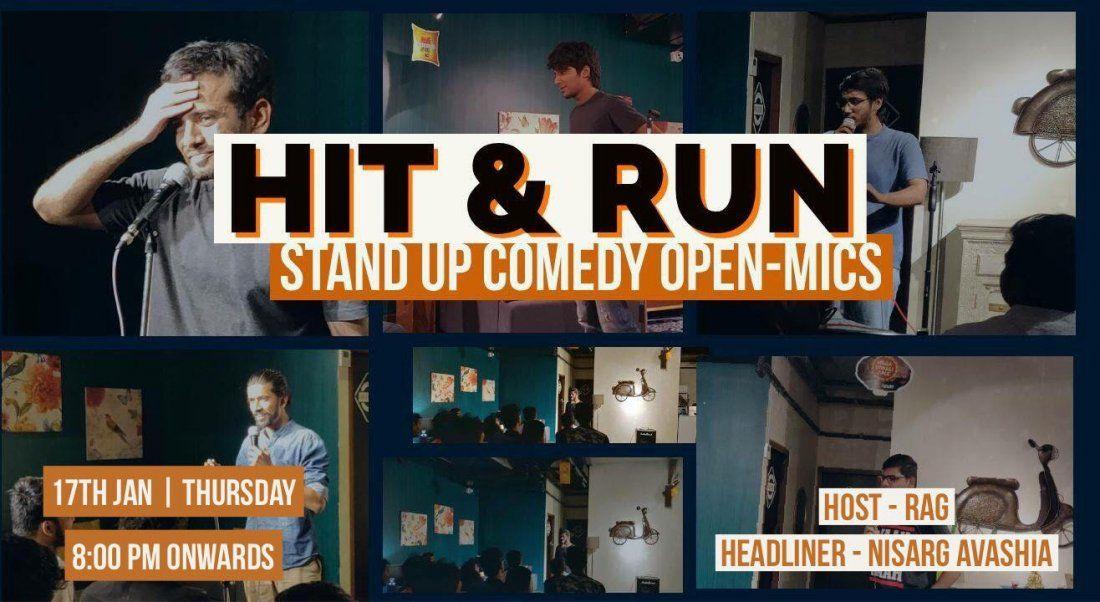 Hit & Run 31.0 - Standup comedy open mic