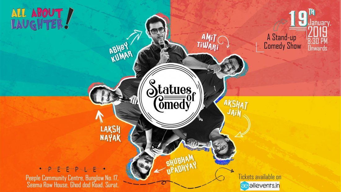 Statues Of Comedy-Surat