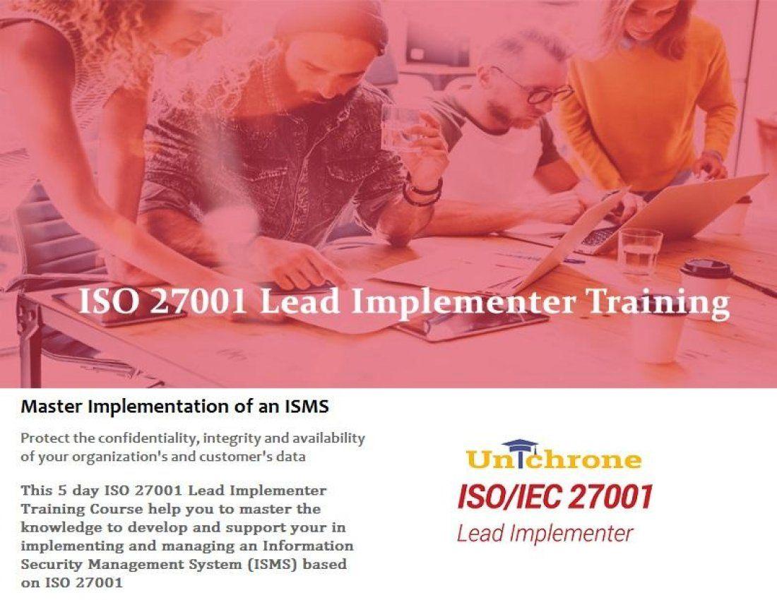 ISO 27001 Certification Training in Calgary