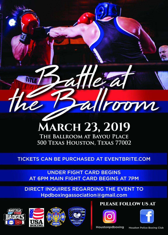 Houston Battle of the Badges Presents Battle at the Ballroom