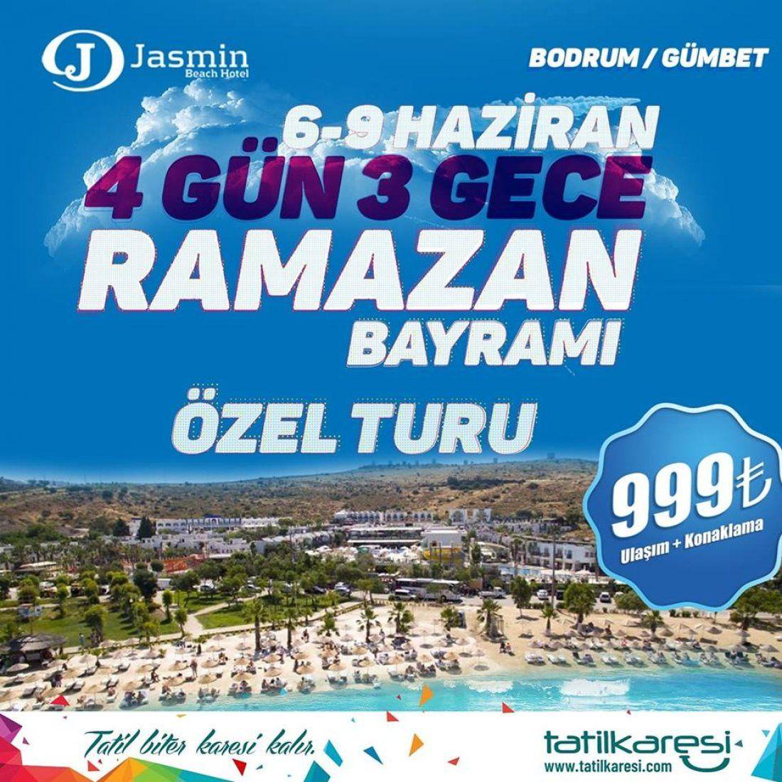 Ramazan Bayram Bodrum Turu 2019