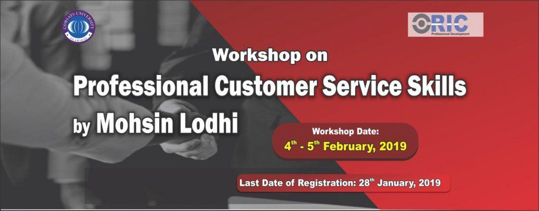 Workshop on Professional Customer Service Skills