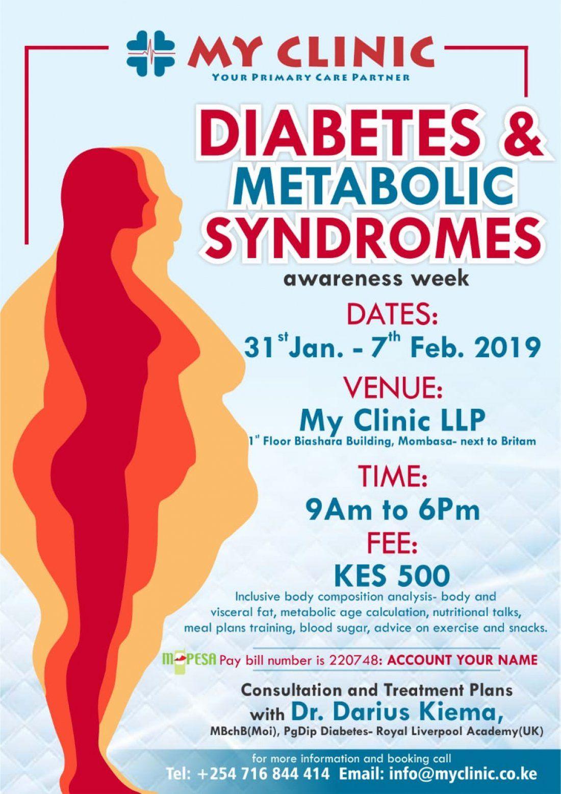 DIABETES AND METABOLIC SYNDROMES AWARENESS WEEK