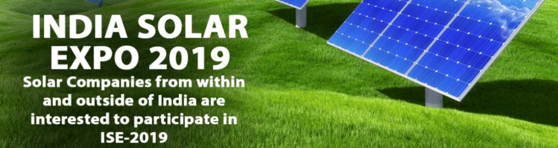 INDIA SOLAR EXPO 2019