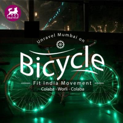 HikerWolf- Midnight cycling under Moonlight