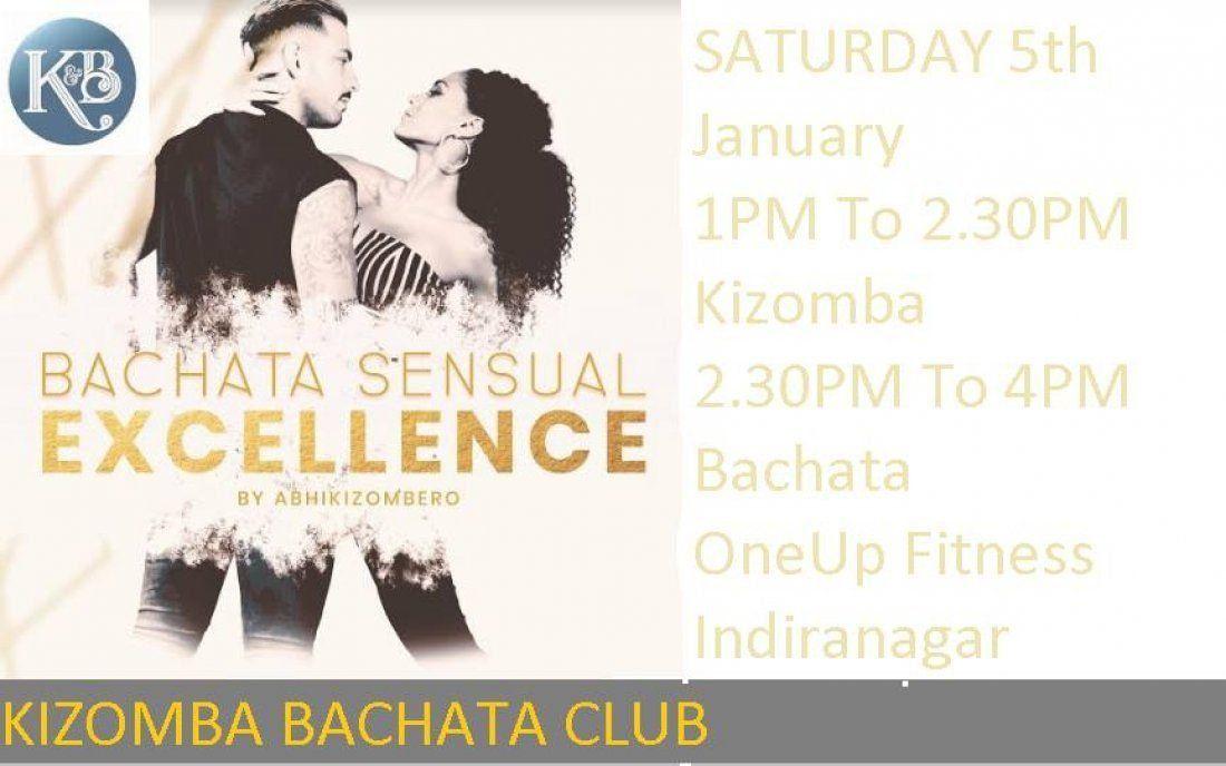 Sensual Bachata and Kizomba Workshop At Indiranagar 19th Jan Saturday