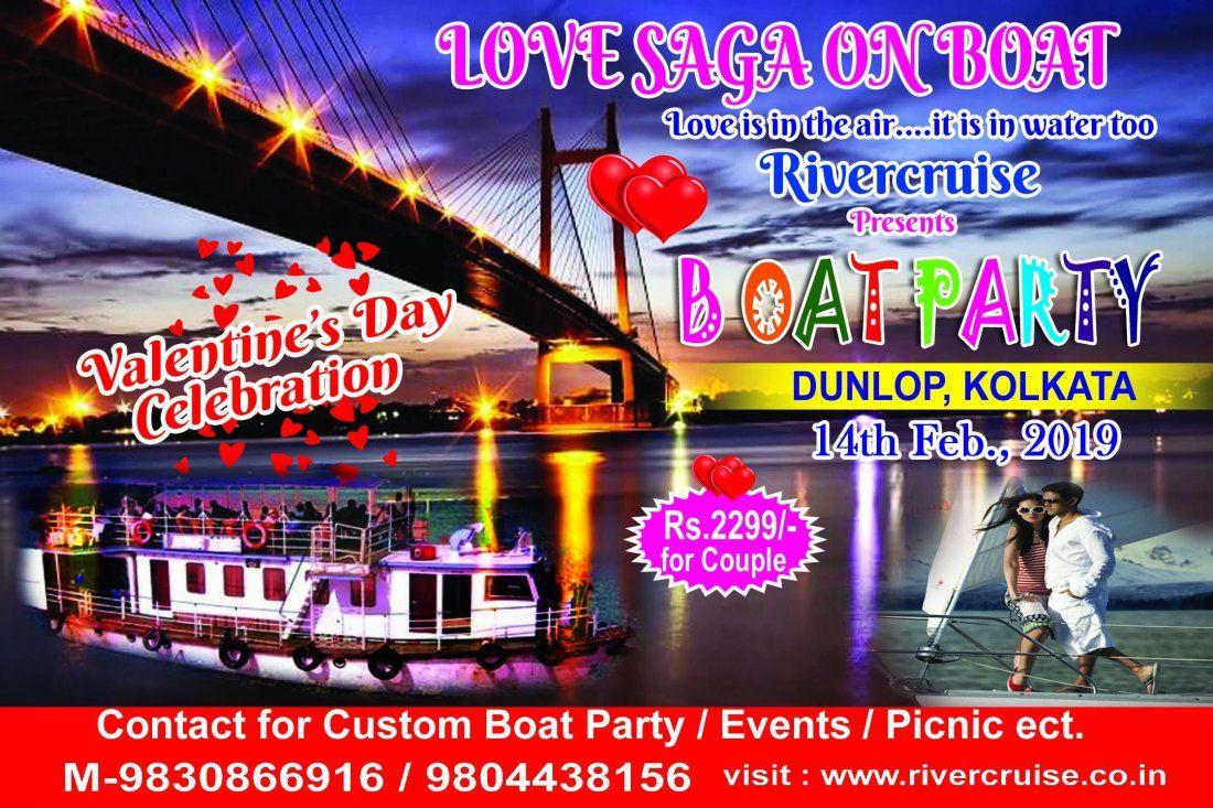 Valentines Day Celebration On Vessel