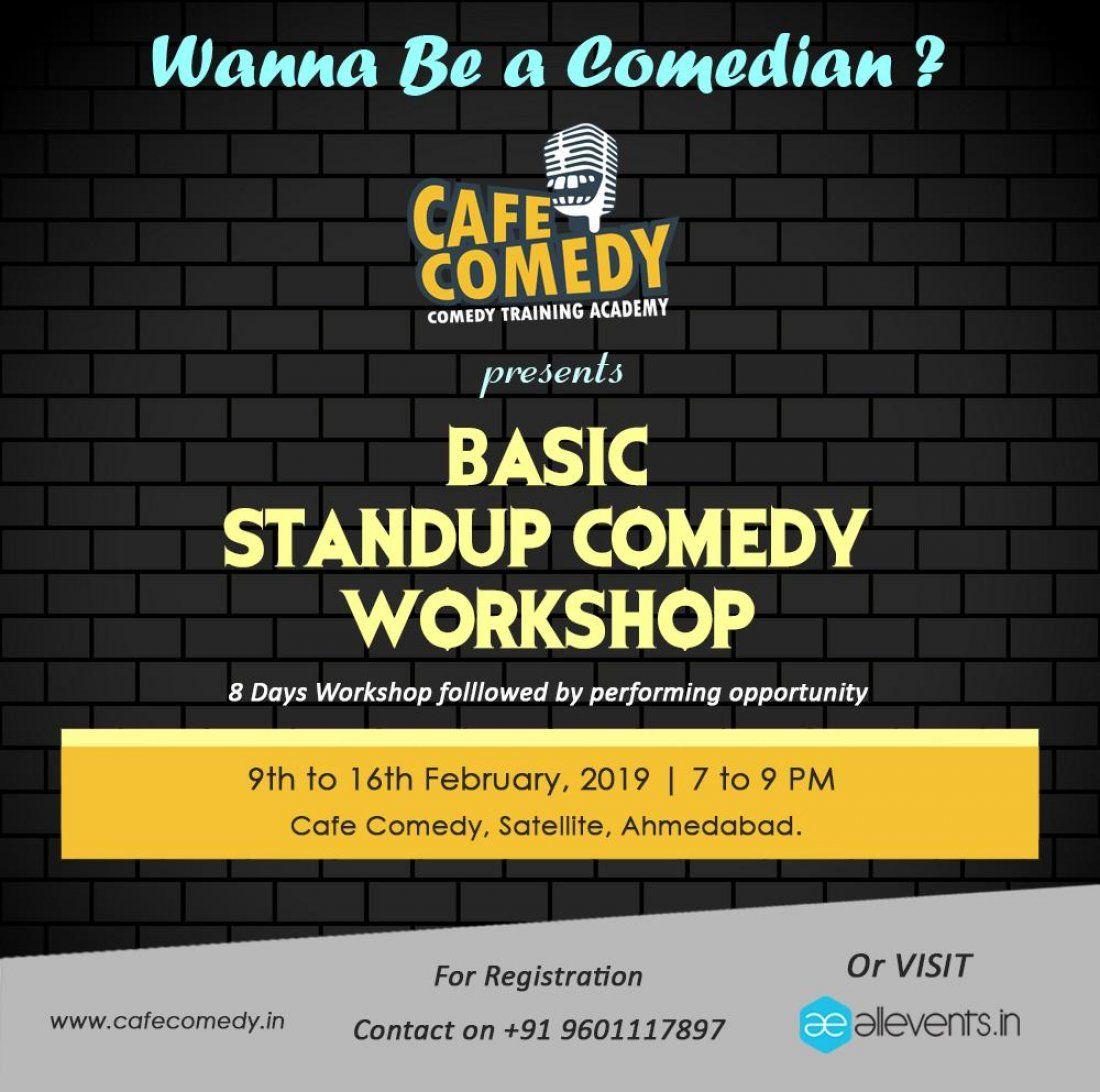 Basic Standup Comedy Workshop - Ahmedabad