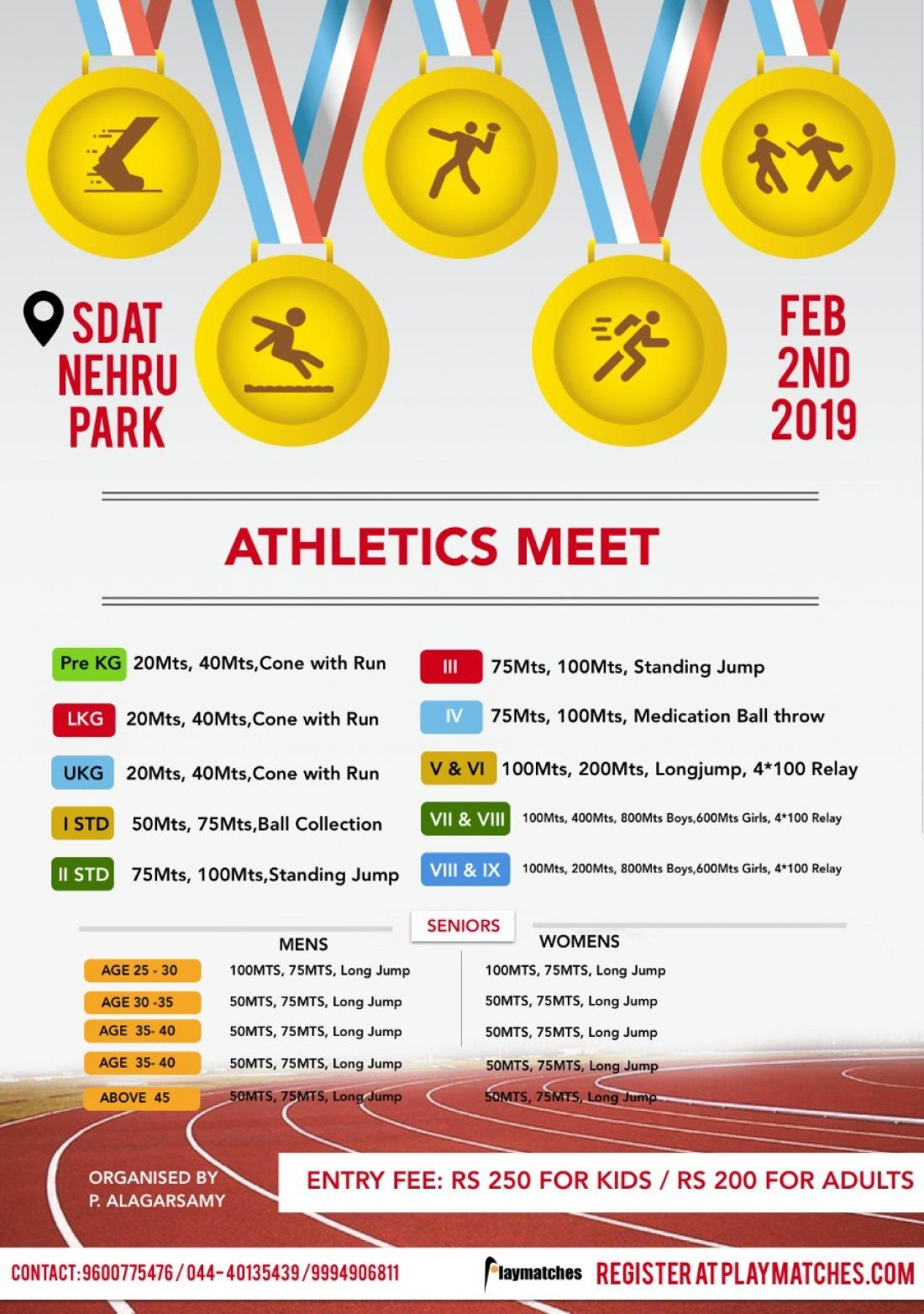 Athletics Meet 2019