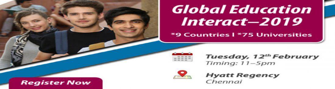 Global Education Fair in Chennai 2019 -  Free Registration