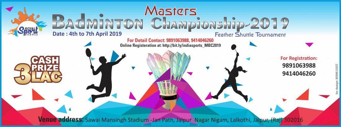 Masters Badminton Championship 2019