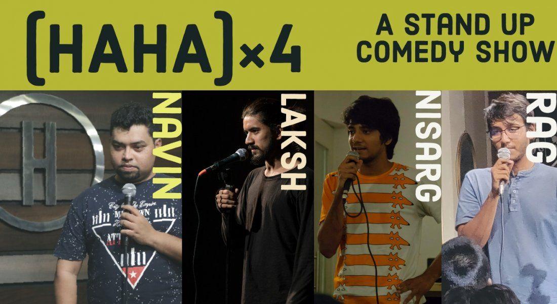 HAHA4 - A standup comedy show