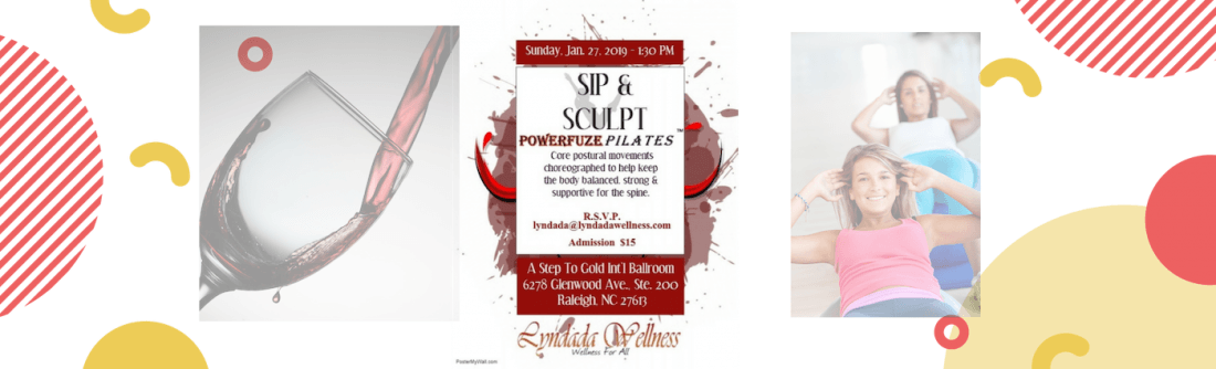 Sip & Sculpt Powerfuze Pilates