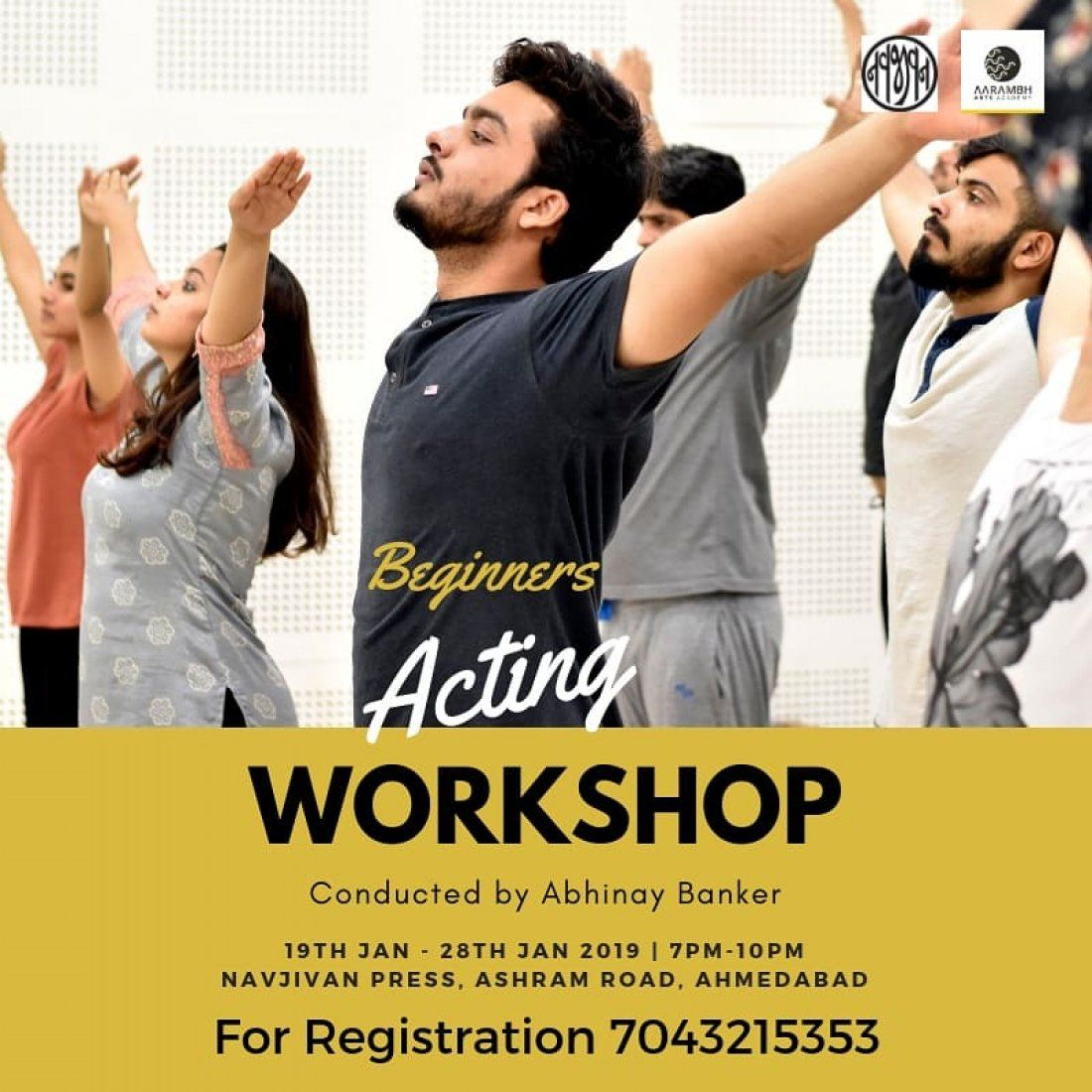 ACT with ABHINAY - Acting Workshop