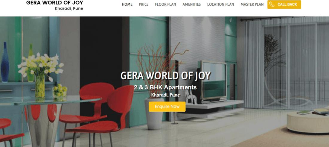 Gera World of Joy Kharadi Pune  Gera New Projects Pune