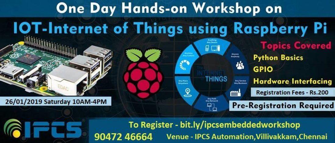 Workshop on IOT using Raspberry Pi
