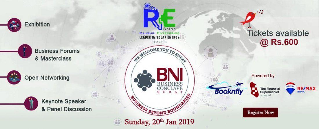 BNI Business Conclave Surat 2019