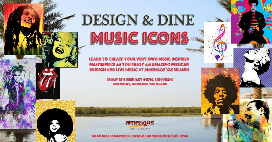Design & Dine - Music Icons Mexican Brunch