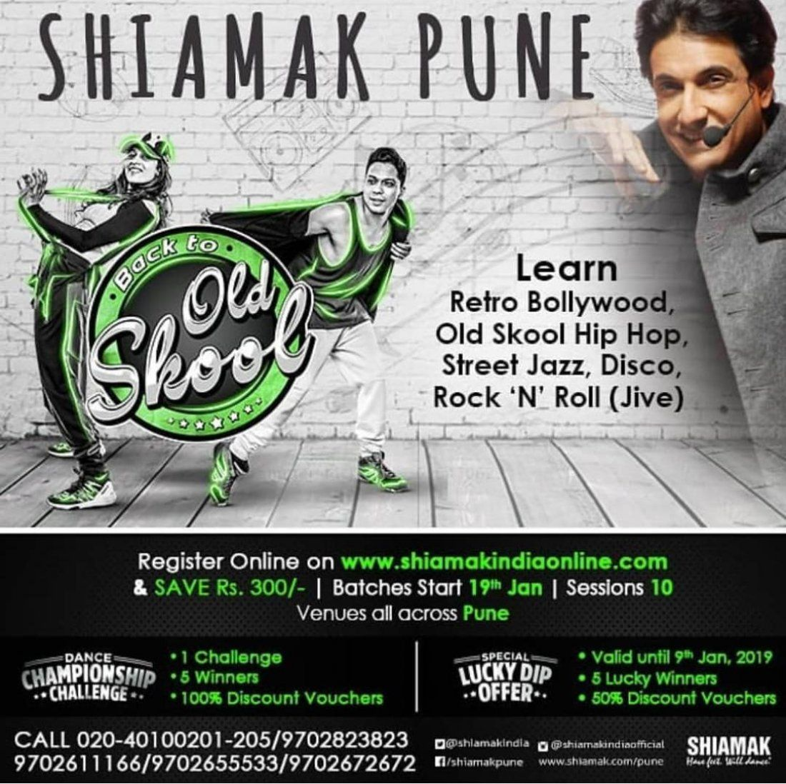 Back in Time with Shiamak Davar in your City  Pune