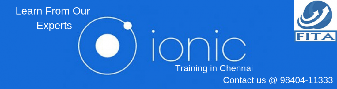 Ionic Course in Chennai