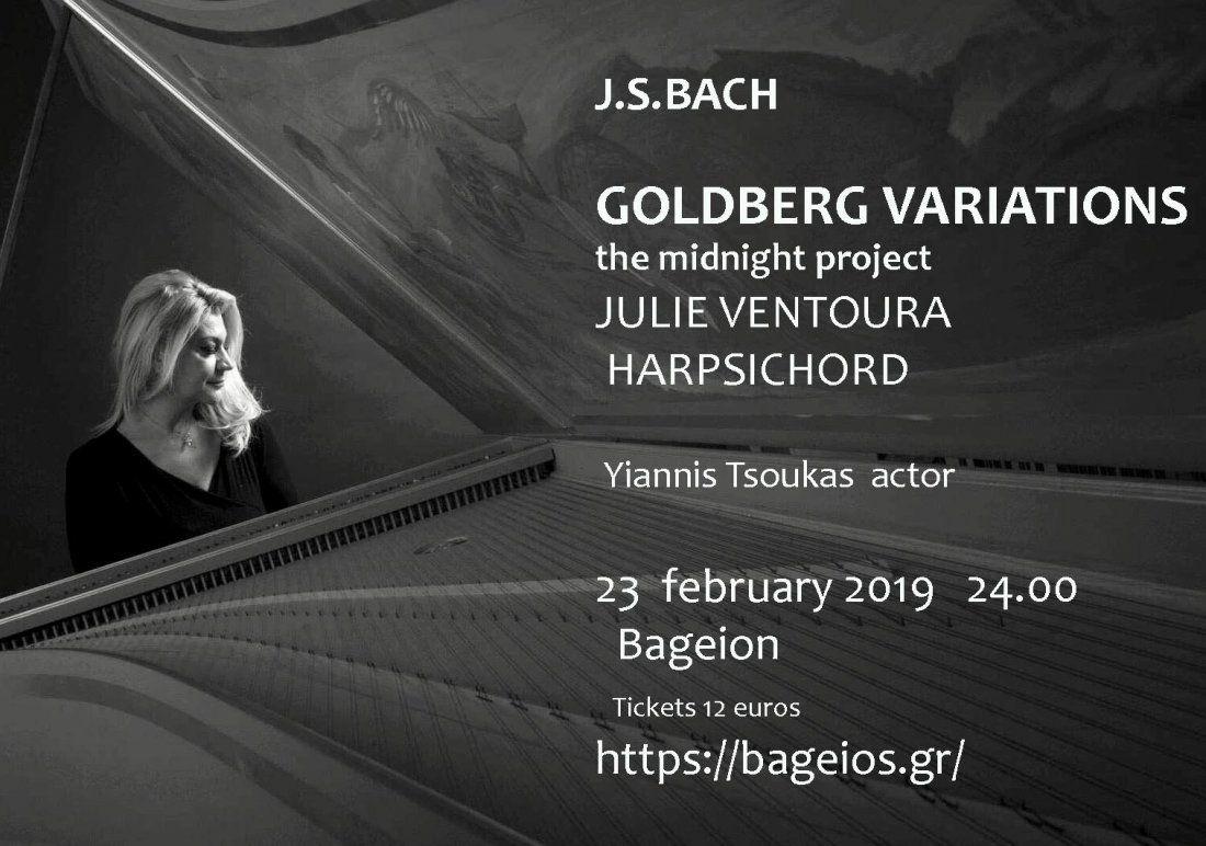 J.S.BACH  GOLDBERG VARIATIONS A MIDNIGHT PROJECT