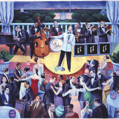 Swing Dance - Red Dress Ball with the Eric Felten Jazz Orchestra - Feb 9 Glen Echo Park